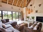 Living Room villa Blaaskans in South Africa