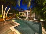 Another Evening View of the Gorgeous Pool