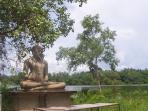 Alentours Temple et lagune