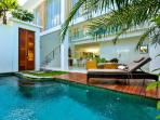 Central Seminyak Villa, 3 bedroom Modern Tropical Style with pool