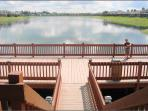 Sunset Lakes Fishing Dock