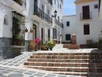 Street outside Casa Verde