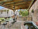 outdoor cabana/kitchen