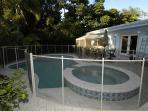 Beautiful tropical home w/ heated pool