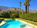 Stunning views from backyard pool area