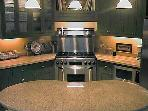 Top of the Line Finishes and Fixtures in the Gourmet Kitchen