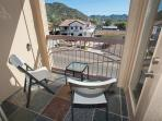 Private balcony to enjoy your morning coffee! You will love the mountain views.