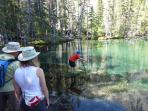 Grassi Lake - a fun hike for the family.