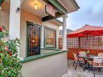 Front Enclosed Patio Courtyard w/BBQ