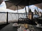 Breakfast Buffet at the Seaside Villa del Arco Restaurant