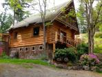 Log home in Sooke