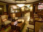 Hearth Room with Complimentary Starbucks Coffee, Hot Chocolate and Espresso [Pin It]