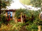 Plumeria Bungalow with private garden area