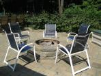 Oasis - Fire Pit, 10 chairs