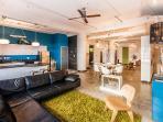 Midcentury Modern Living Area