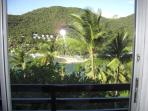View overlooking Marigot Bay from The Windsor suite