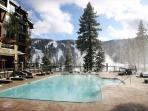 Ritz Carlton pool and hot tubs