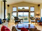 Incredible oceanview home with private hot tub & outdoor firepit await