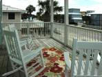 You can see a peek of the Gulf from the master bedroom balcony
