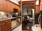 Kitchen/Bedroom view.