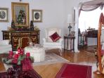The Parlor during Christmas