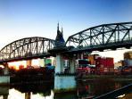 Downtown Nashville Just Across the Bridge