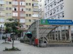 Opposite the Subway Station Ipanema/Gal Ozório (Exit Sá Ferreira)