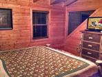 Another view of Upper Level Master Suite with attached Full Bathroom!
