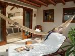 Our two Suites Cocos and Azulillo have a large private terrace with plenty space at Solana B&B