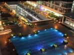 View of swimming pool from our unit