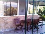 Villa front veranda