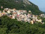 Lakones Village above the villa (25 min walk up the mountain on Byzantium paths through olive groves