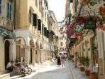 UNESCO protected Corfu town, 20 mins from Villa extremely beautiful and fill of history