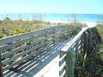 Walkway to BEACH...