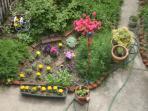 your private garden area