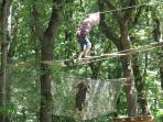 Zipping through the trees with Aventhure