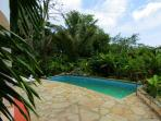 Private pool, secluded garden