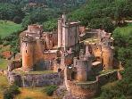 breathtakingly beautiful Chateau Bonaguil - just 20 mins drive