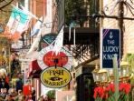 Old Town, Alexandria shops