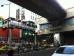 Sala Daeng BTS station 5 min walk