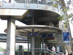MRT Silom station 8 min walk