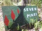 Seven Pines Sign
