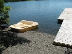 Pebble beach  Dock - Moosehead Lake Island