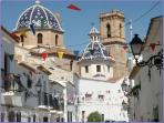 Altea Church & Street
