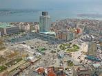 Taksim Square is 50 mt away