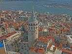 Galata Tower is less than 15 min