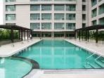 pool on 4th floor