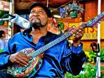 Delta blues artist Super Chikan by photographer Kim Welsh