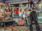 Reverand Peyton and his Big Damn Band by photographer Eric Stone