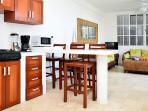 Bar/kitchen area